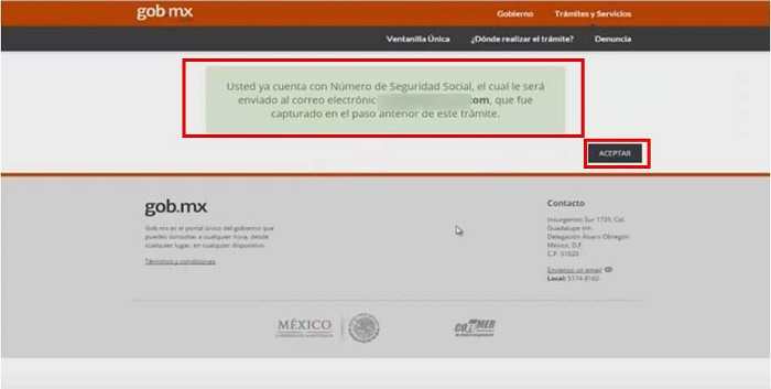 Seguro social NSS Oaxaca