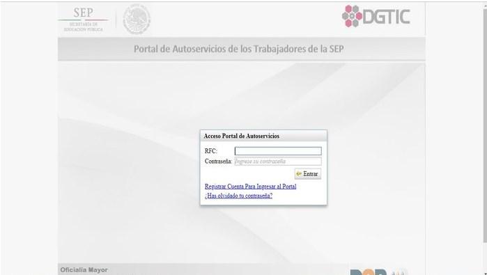 Autoservicios portal