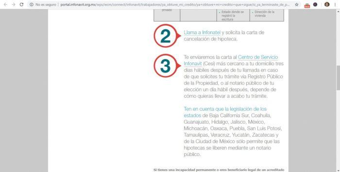 Cancela Hipoteca Infonatel