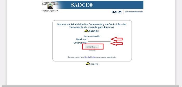 SADCE de Kárdex UAEM