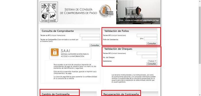 Sistema de consulta de comprobantes de pago