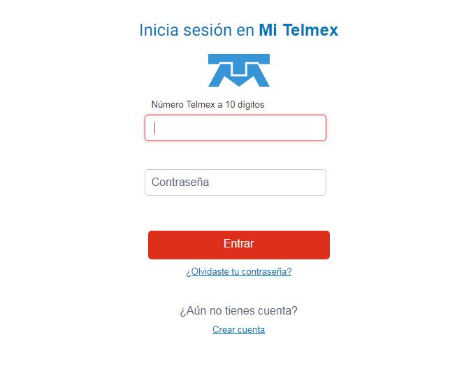 Logue telmex