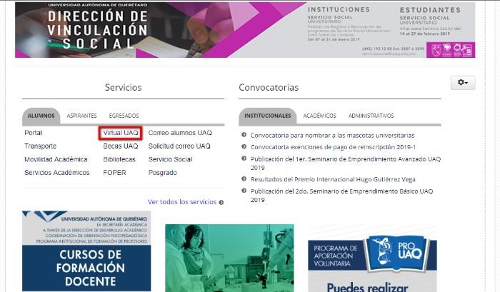 acceso a virtual uaq