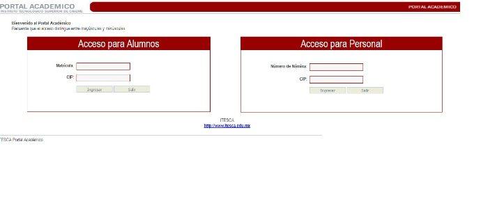 acceso al portal academico