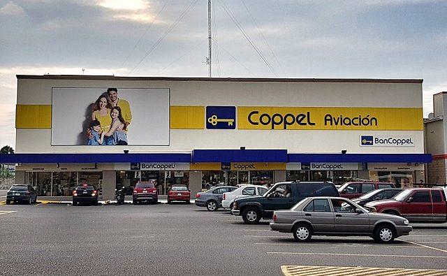crédito coppel- fachada de tienda