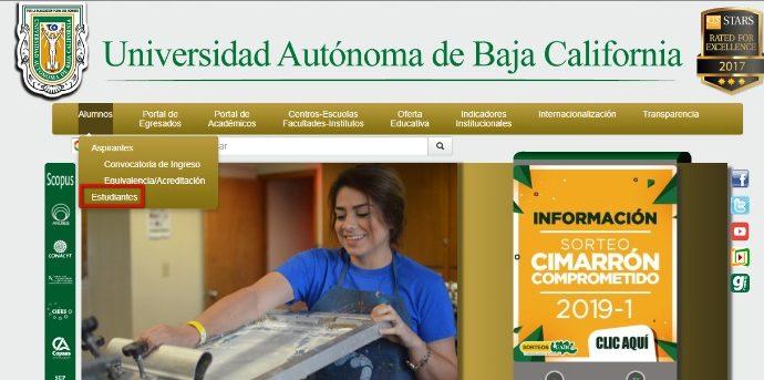 web oficial uabc
