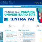 Portal de alumnos UNISON • Accede al sistema virtual