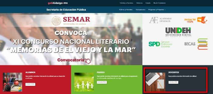 web principal