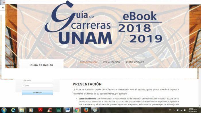 Carreras de mayor demanda en la UNAM