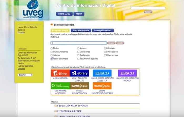 Centro de Información Digital